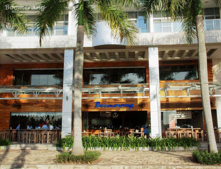 Không gian nhà hàng Boomerang Bistro Saigon
