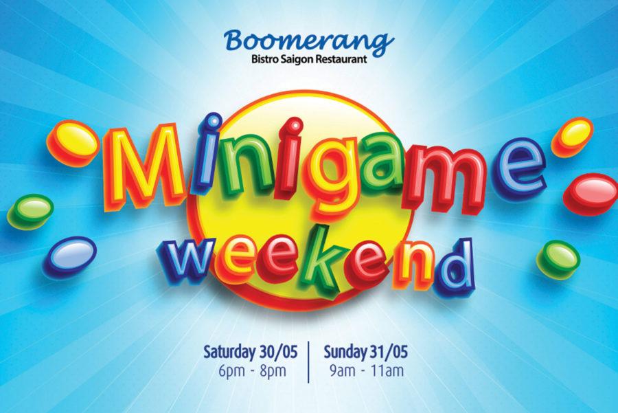 Chương trình Minigame Weekend