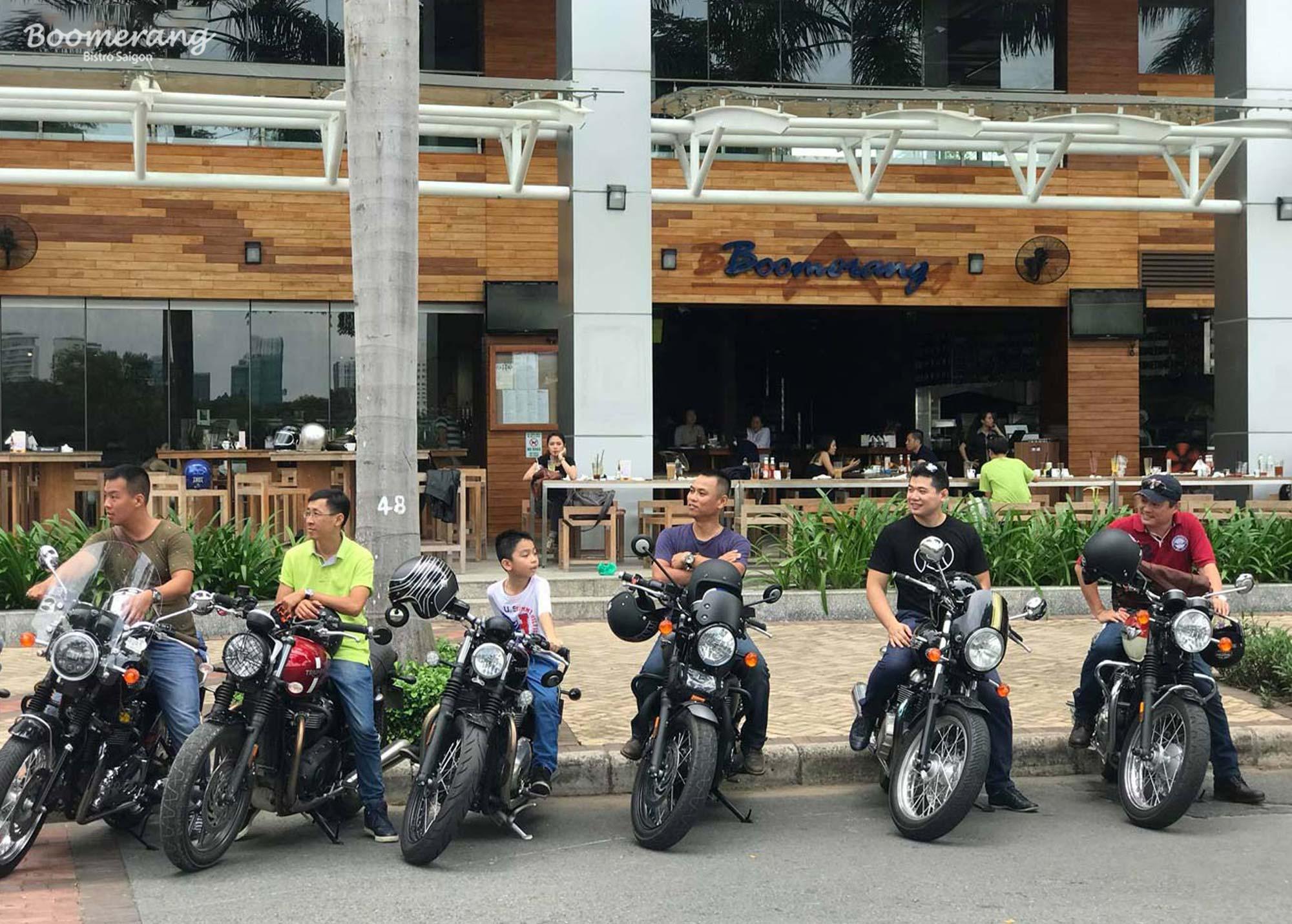 Triumph motors' members