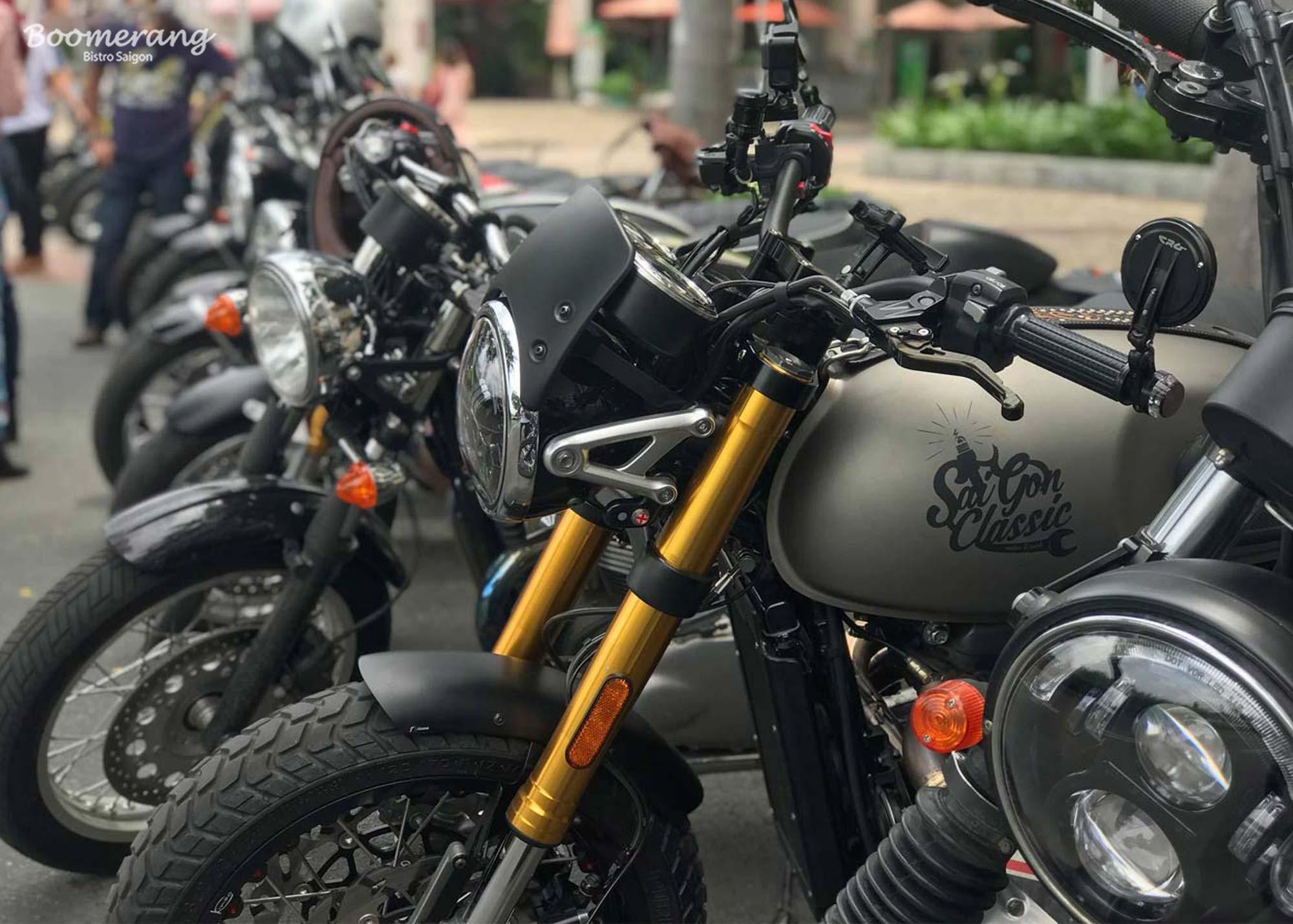 Triumph motors gathering event
