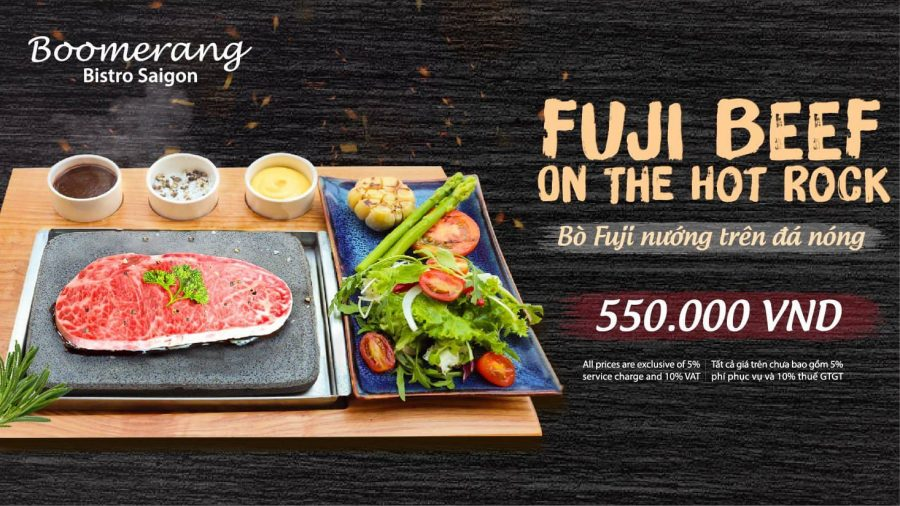 FUJI BEEF ON THE HOT ROCK – KEEP THE FLAVOR, DELIVER DELIGHTFULNESS