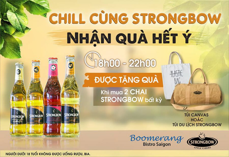 BUY STRONGBOW TO RECEIVE ATTRACTIVE PRIZE
