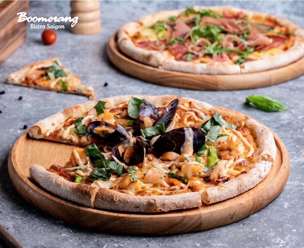 Pizza hải sản